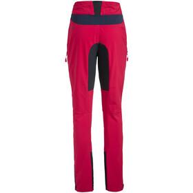 VAUDE Qimsa II Spodnie Softshell Kobiety, cranberry